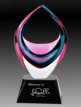 Art Glass Trophies