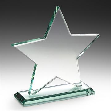 W757l Discount Glass Trophies