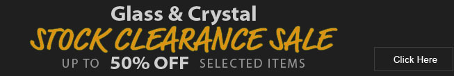 Glass and Crystal Trophy Clearance Sale