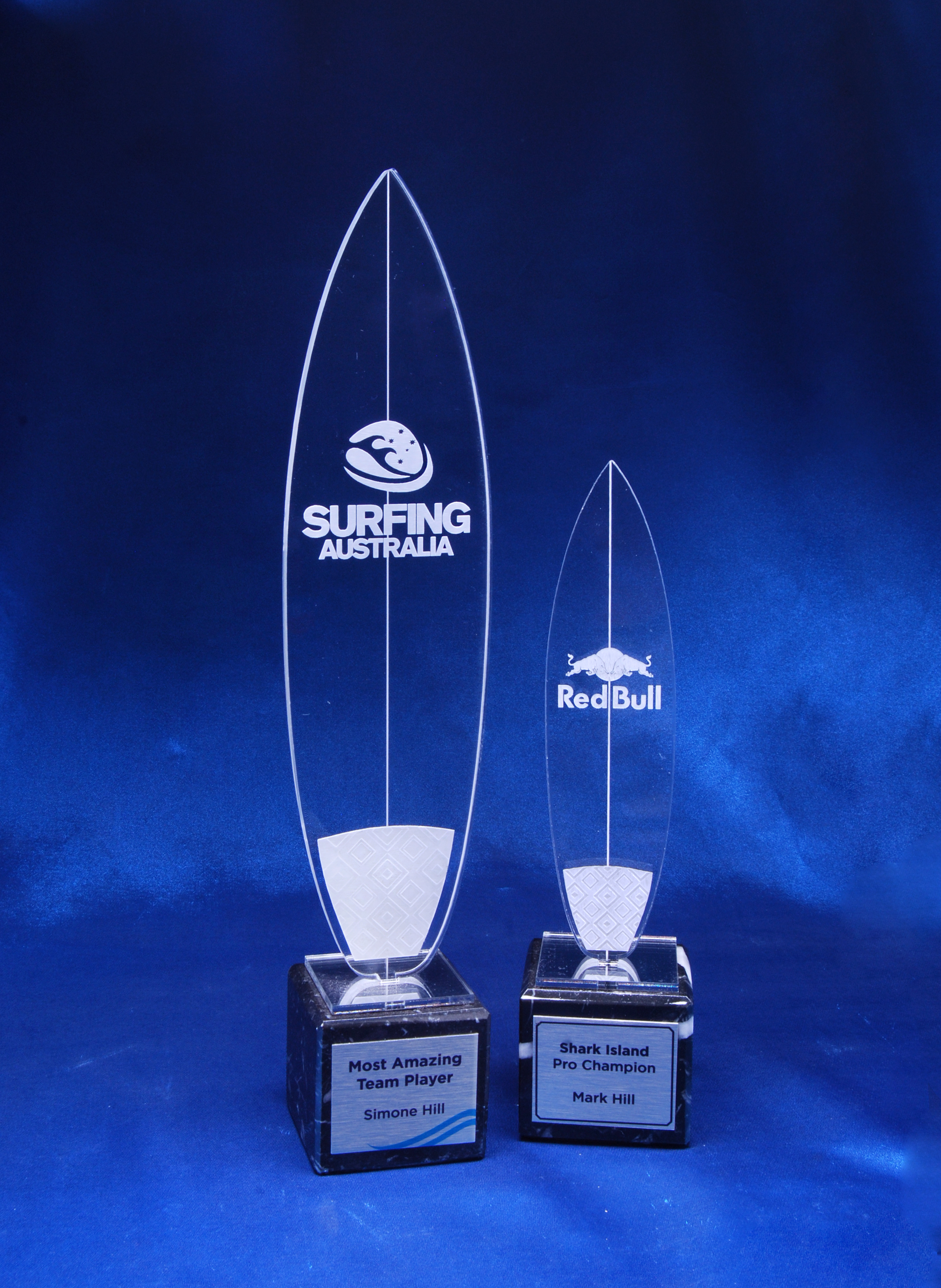 Surfing Trophies Shortboard Acrylictrophy Sydney