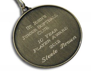 Medal Engraving Direct
